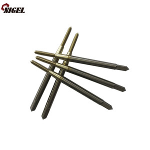 New products custom made metric solid carbide thread screw stainless steel taps