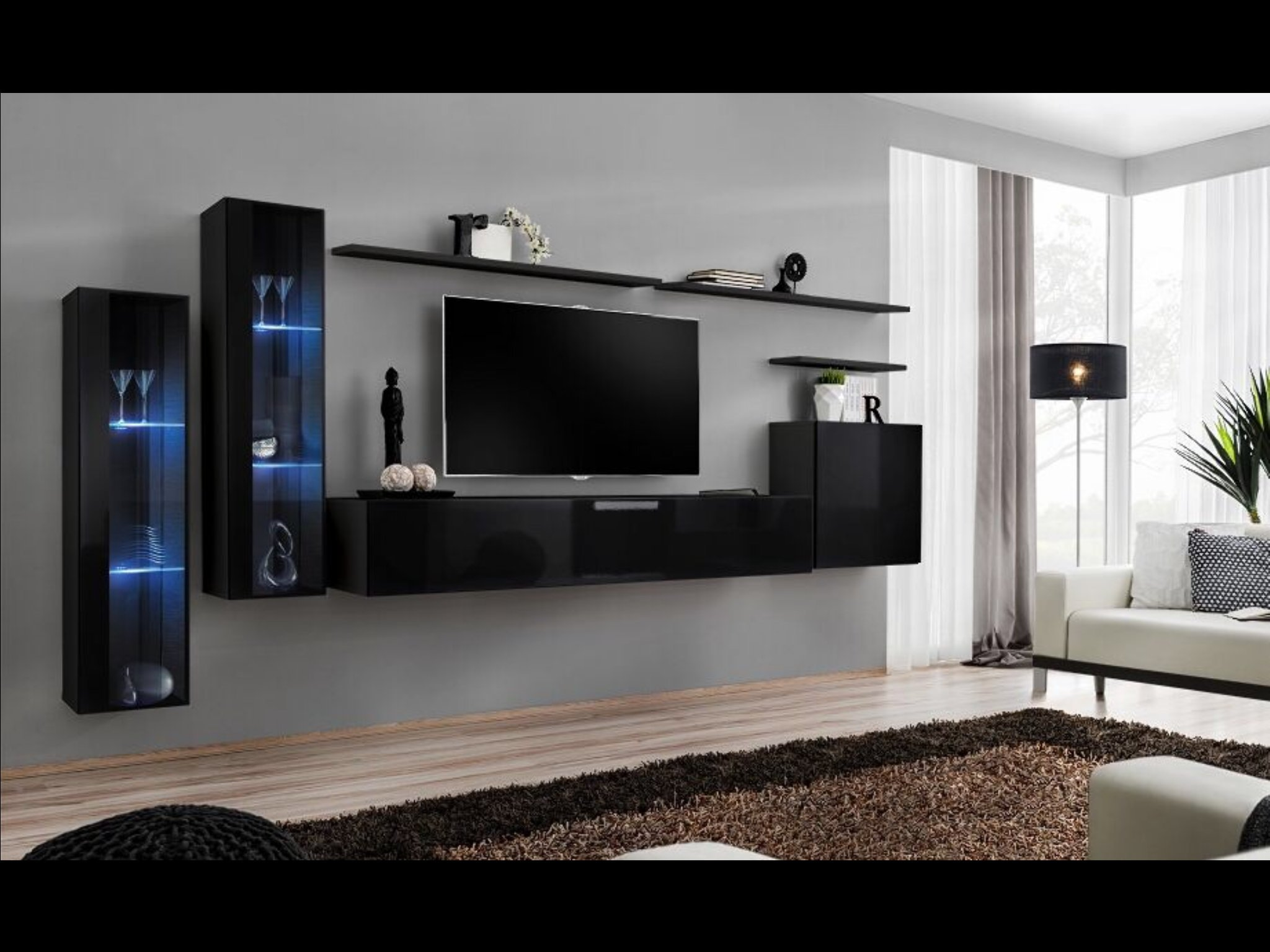 Buy SHIFT XI - Seattle Collection High Gloss living room furniture