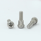 customized size pan head cross slot shoulder screw