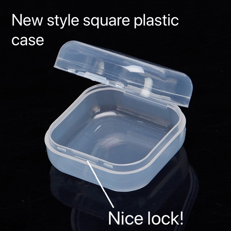 Wonderful Cases Waterproof Plastic Case for Earbuds