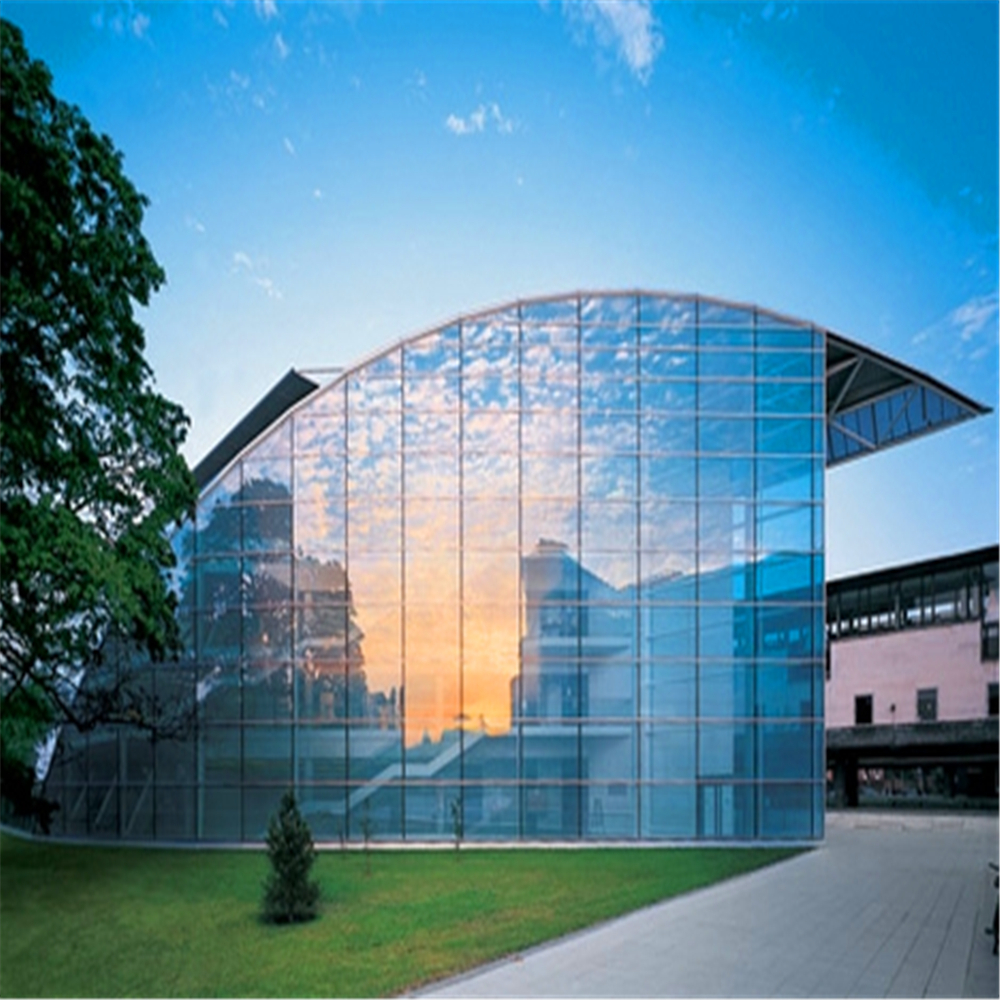 Modern Design Building Facade Materials Glass Curtain Wall