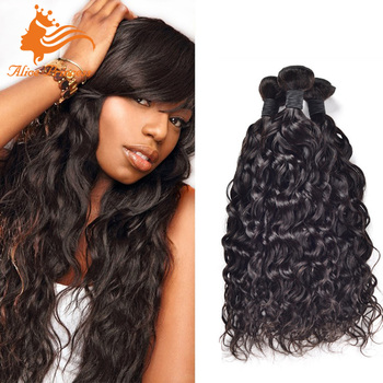 7a ideal human hair extensions for black women unprocessed water 7a ideal human hair extensions for black women unprocessed water wave curly brazilian hair weft bundle pmusecretfo Images
