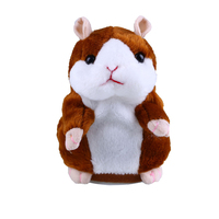 Lovely X Hamster Animal Recordable Stuffed Plush Talking Hamster For Children