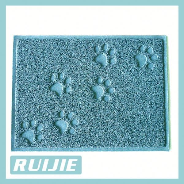Decorative Kitty Litter Mat- Soft Material, Easy On Paws And Catching Scatter