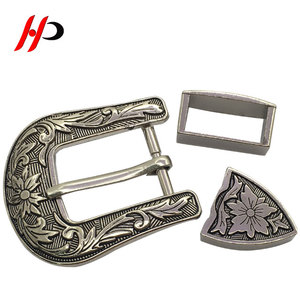 HPB19 Hardware Silver Mexico Luxury Brass Blank Small Italian Belt Buckle Screws For Belt Buckle
