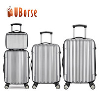 4 piece set 14/20/24/28 travel cabin luggage bag abs trolley case