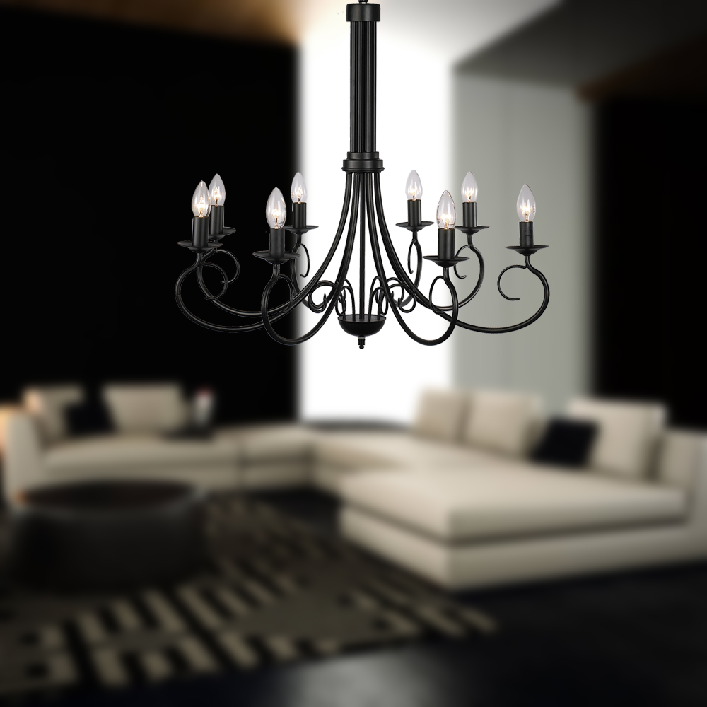 bedroom chandelier black iron chandelier home center lighting with ce