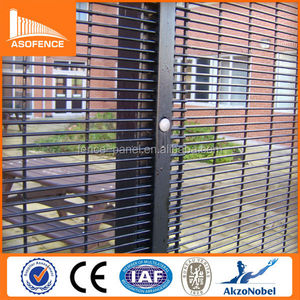 Wholesale Clear Vu Panel Fence Security Garden Wire Mesh Cheap Metal Clearvu Fence Panels (High Security)