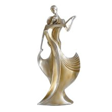 Resin Dancing Sculpture Stand Homme Decor Couple Decorations Living Room Crafts