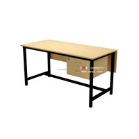 Simple Design Office Furniture Durable Teacher Office Table with Drawer