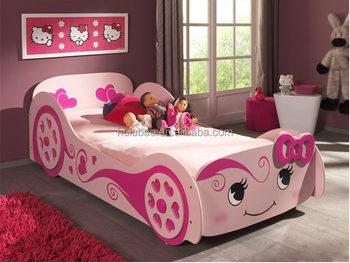 Girls Princess Car Race Bed Wholesaler Dubai Bed1108