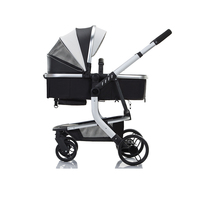 2018 ZHILEMEI high landscape baby time stroller jogger 2-in-1 baby stroller