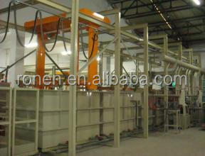 Aluminum anodic oxidizing prodution line for buildingmaterials-01