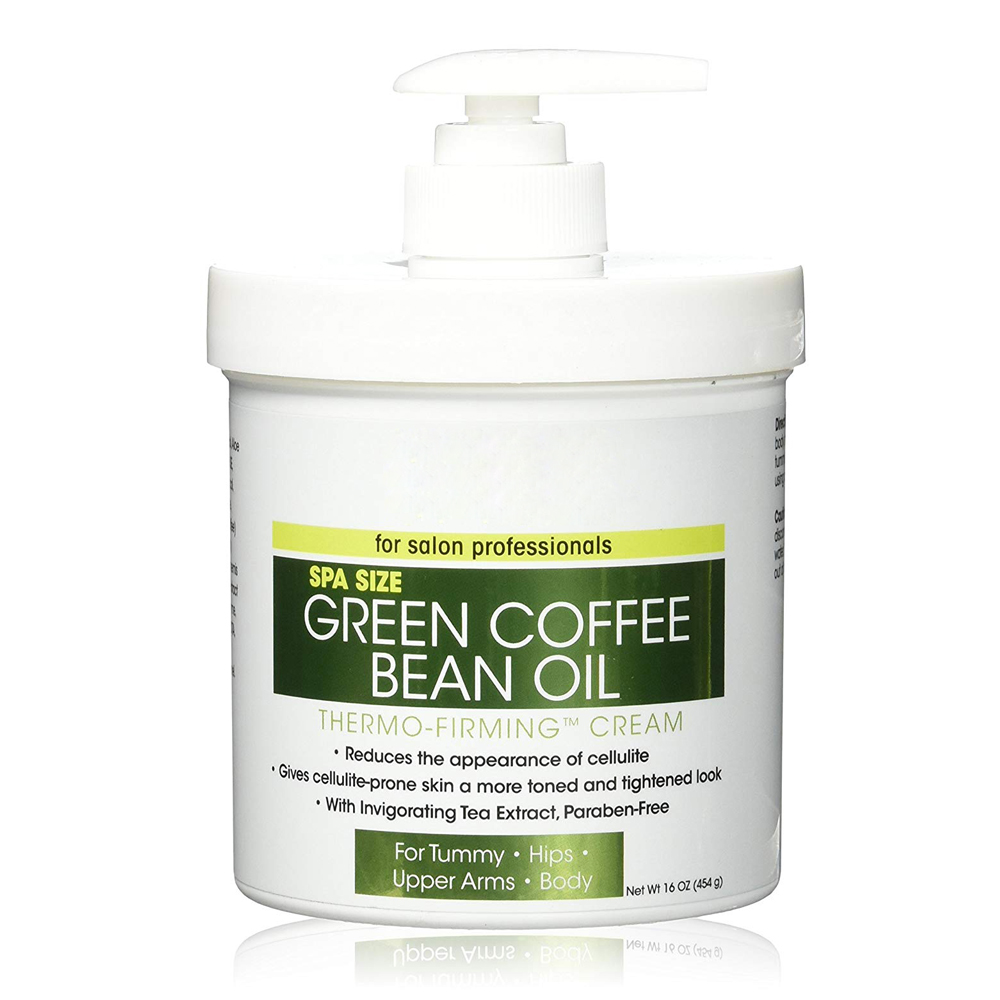 Private Label Green Coffee Bean Oil Thermo Firming Cream Body