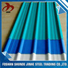 China supplier foshan cheap color aluminium sheet corrugated metal rust proof roofing sheet for material roofing
