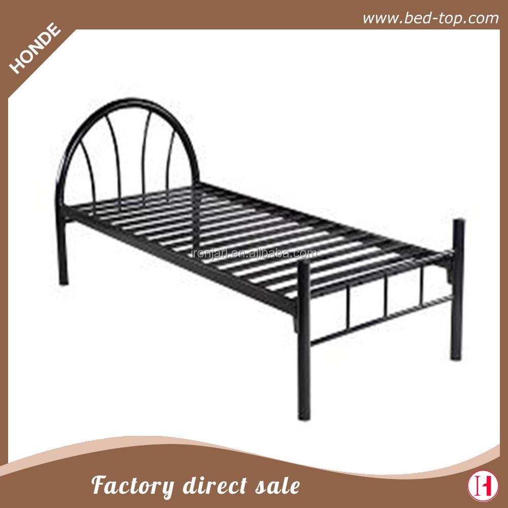 Cheap Modern Bed Frames: Metal Single Cot Bed Frame Modern Design Metal Bed In Very