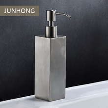 Wholesale wall mounted hotel hand sanitizer shampoo dispenser stainless steel pump liquid soap dispenser