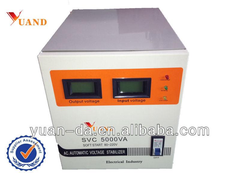 Servo Motor Avr Type Stabilizer Voltage 5kva Svc
