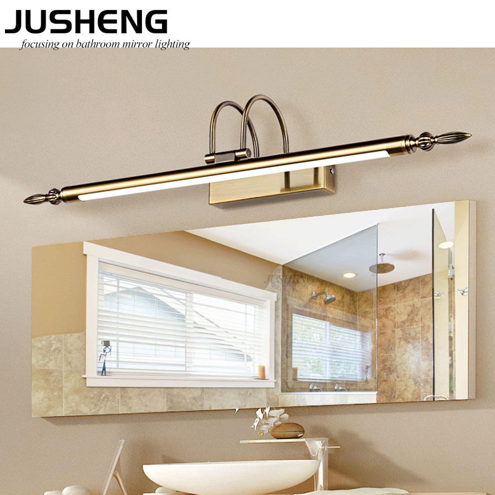 Wholesale 9W 56cm LED Light Mirror Wall Lamps in Bathroom 100-240V