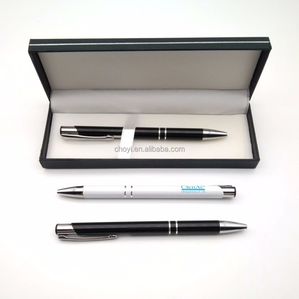 Логотип гелевая ручка набор рекламных сувениров высокого качества бизнес-металлическая шариковая ручка