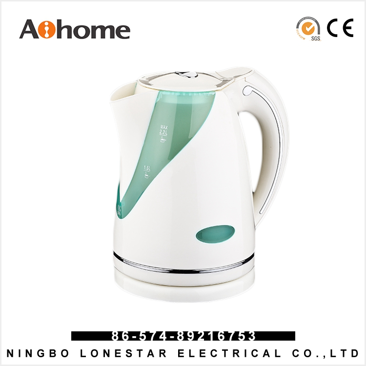 Electric kettle 1.7 litre plastic german electric kettle