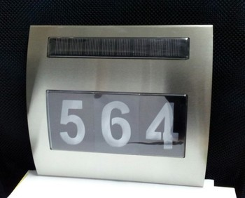 Fq 522 Led Solar Light For House Numbers Number Lights
