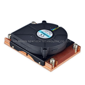 Russia OEM ODM stock 2011 CPU ISO9001 round heat sink with fan