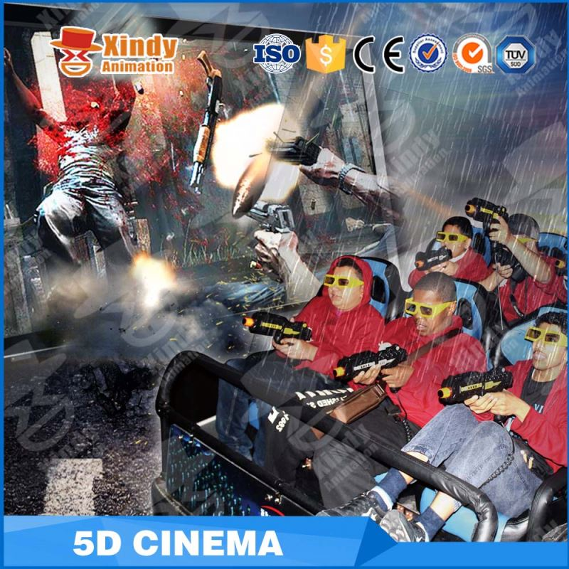 Guangzhou Zhuoyuan Factory Offer 3D Glasses Funny Games 5D Cinema Business Plan