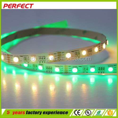 muticolor digital led outdoor waterproof flexible led strip light smd5050 ce rohs ul listed
