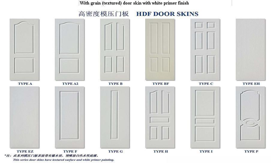 cheap mdf interior wood door design