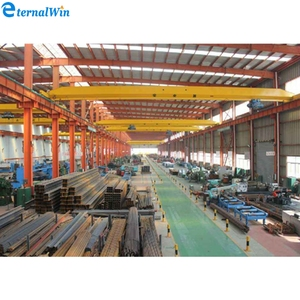 New style Steel Factory grab overhead crane with CE certificates
