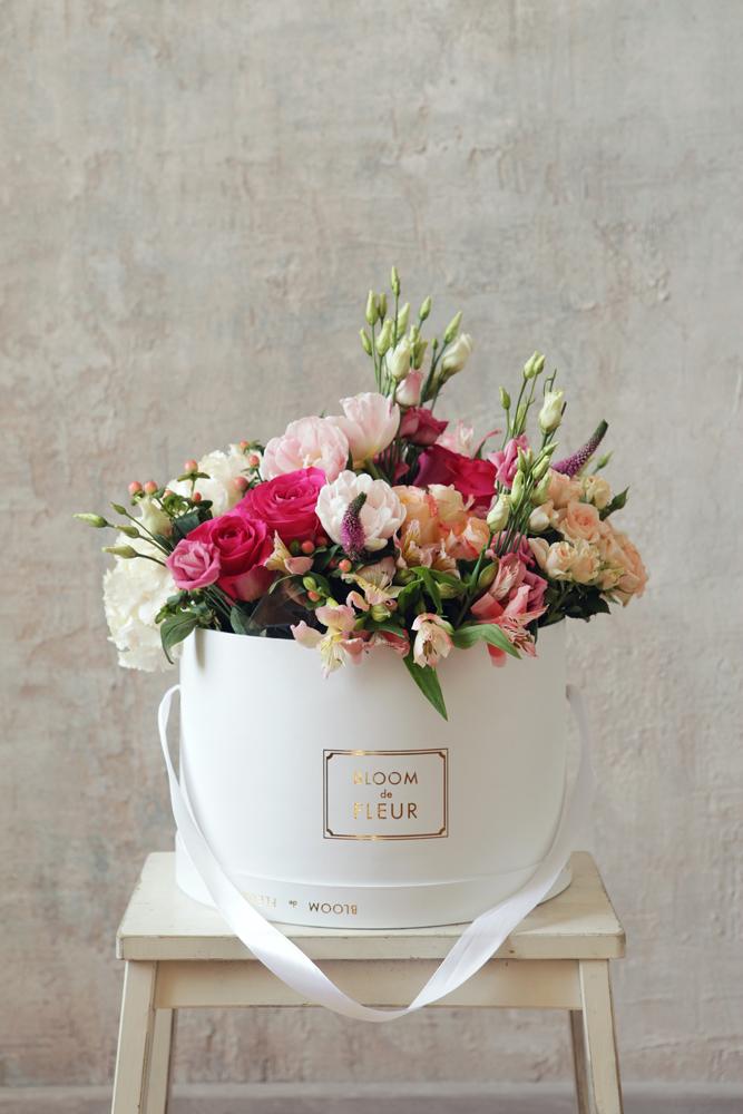 customized flower box  round flower box