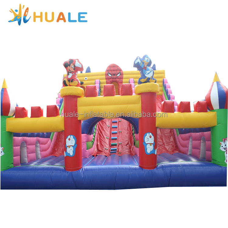 Customized cartoon inflatable jumping castle,inflatable bouncy castle for sale
