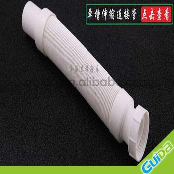 plastic flexible drain hose