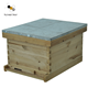 Two layers wooden langstroth beehive for Beekeeper tools