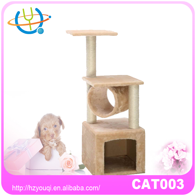Pet toys fashionable assembled cat tree manufacturer in China