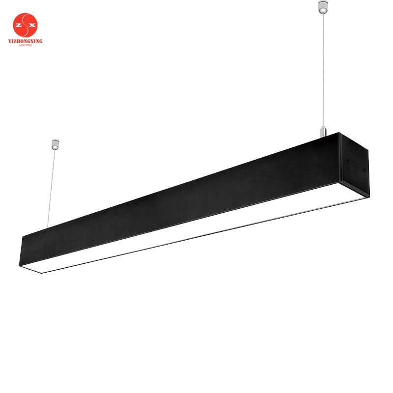 Connectable Plafond Linéaire Led Luminaires Pour La Maison/Bureau/Studio/École/Hôpital/Center Commercial éclairage