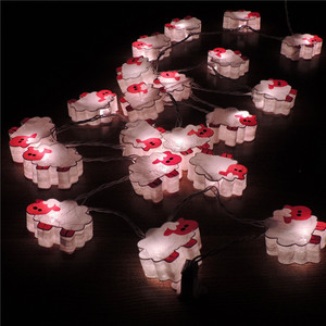 Cute Little Animal Mini Paper Latern LED String Lights