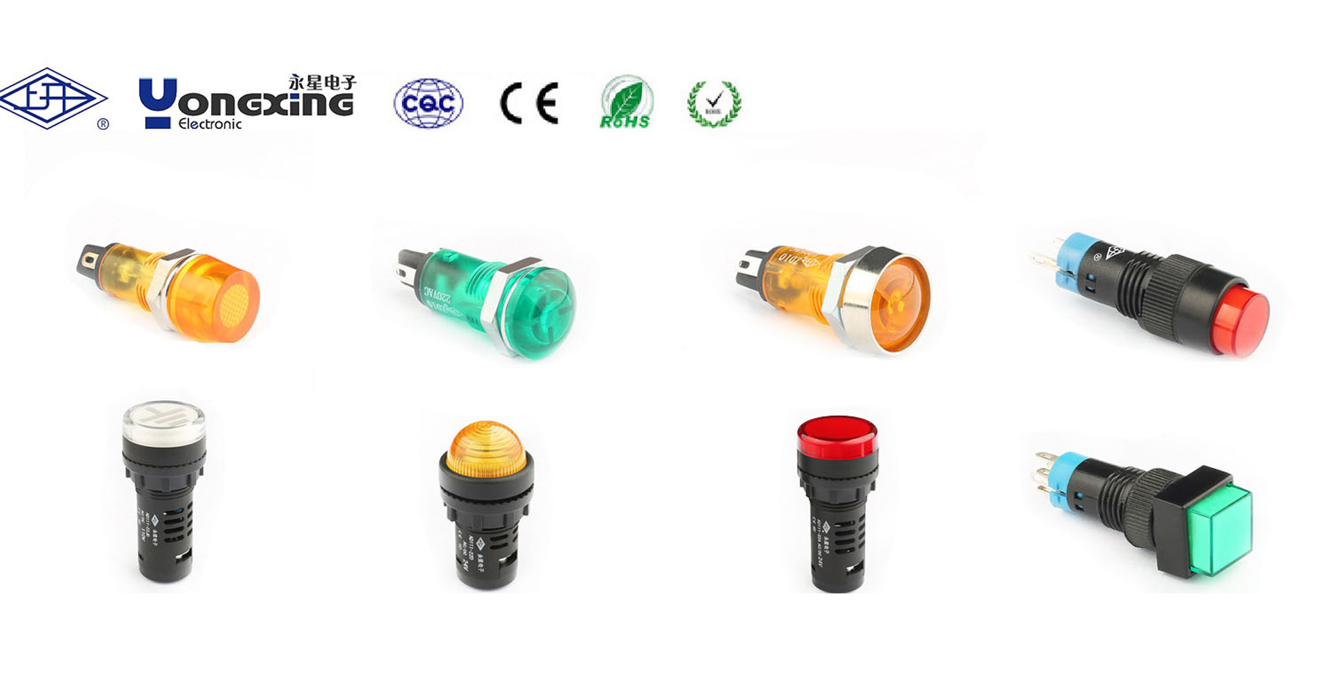 22mm signal led  light led indicator light red and green indicator light