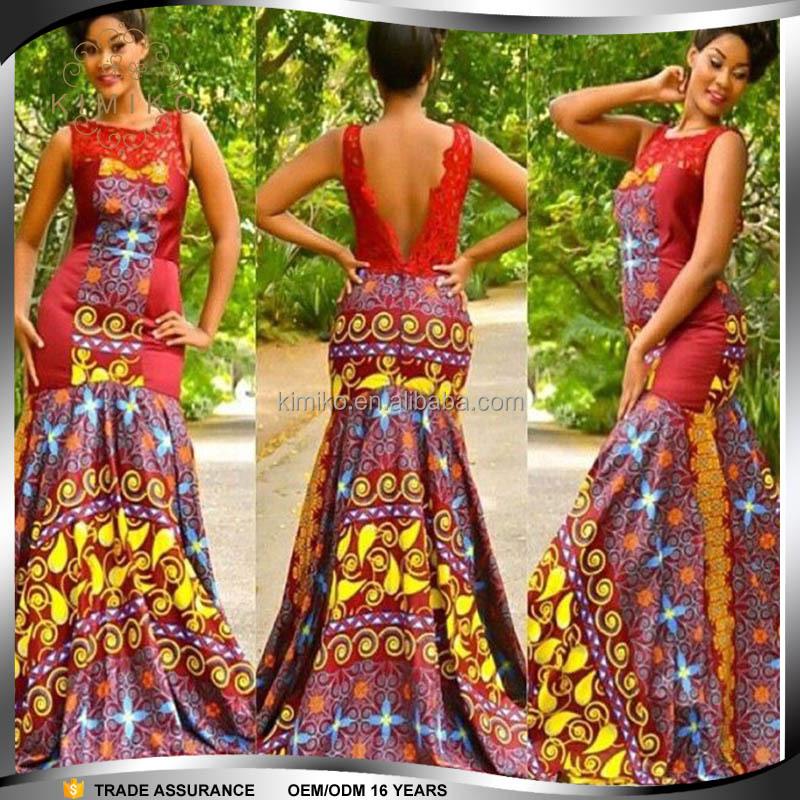 Hot Selling Print Long Dashiki African Evening Dress For Women - Buy ...