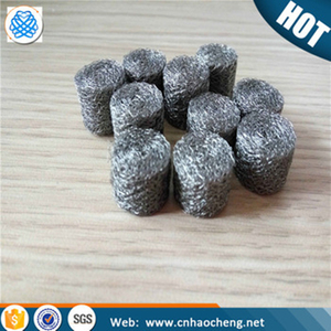 304 Stainless steel compressed knitted wire mesh for airbag slag filter