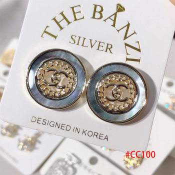 AP2322 Wholesale custom Collection korea silver earring for women jewelry gift dropshipping