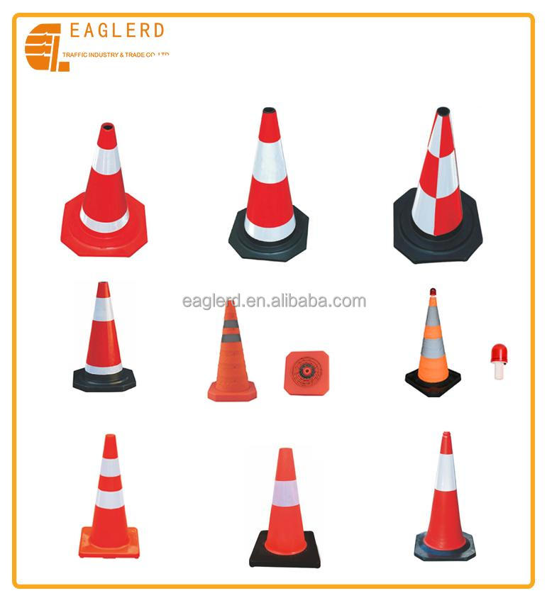 Road safety reflective traffic cone