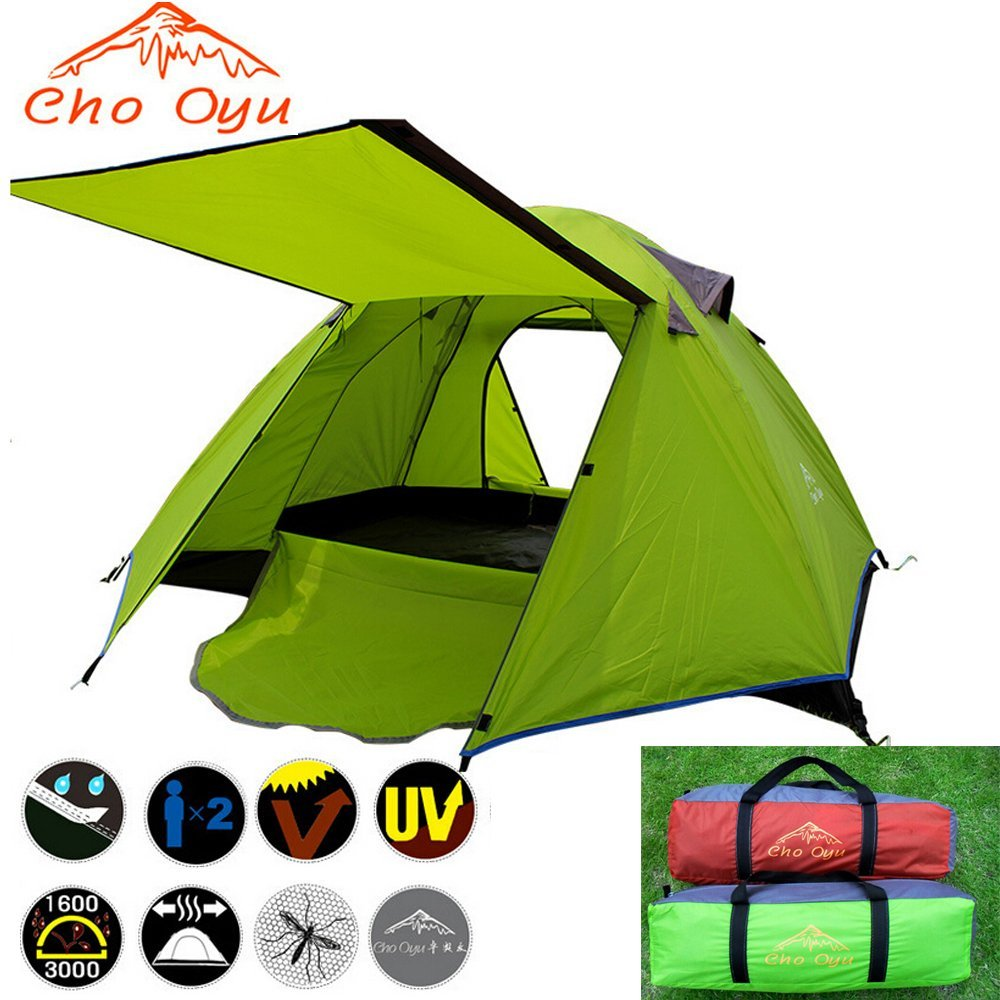 Cho Oyu 2-3 Person 2 Layers Tent Portable for Camping Hiking