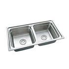 without faucet stainless steel kitchen sink made in china