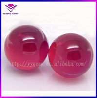 Synthetic Ruby Stone Wholesale Ruby Ball Price