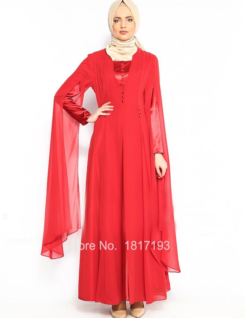 Buy Glamorous Red Arabic Style Evening Dress Dubai Kaften Dress Button Arabic  Muslim Hijab Dress Long Sleeve Muslim Long Dress in Cheap Price on  m.alibaba. ... 0236a729ebd8