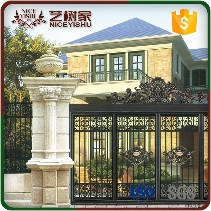 Color designs simple gate design modern gate designs for Main door wall design