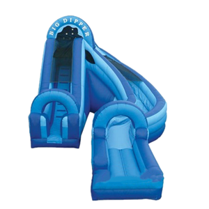 Water Big Dipper Inflatable water slide hill water slide for sale