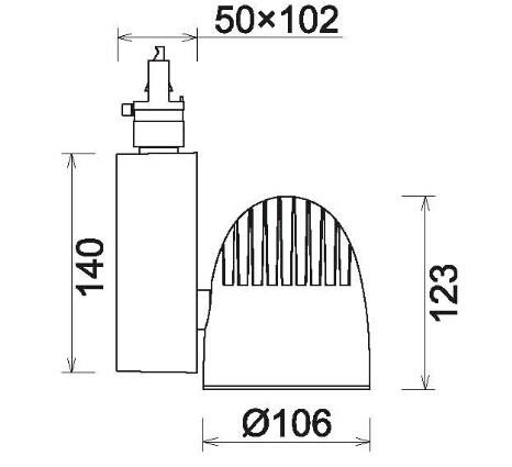 Top Reliable Performance Black Heatsink Housing 2,3,4-circuit 30w ...
